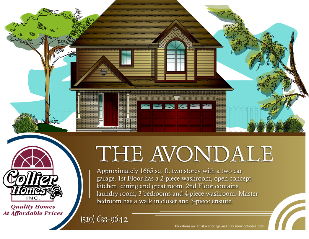 the avondale collier homes