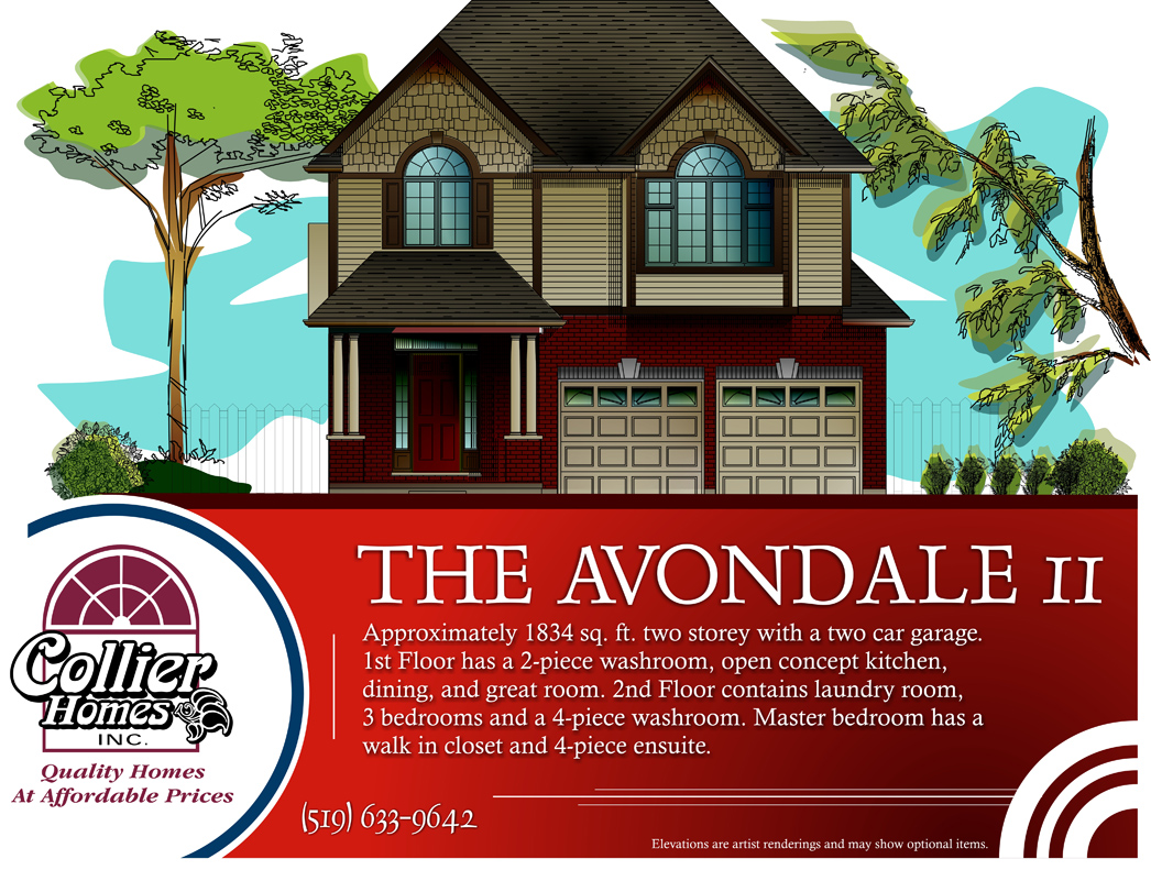 The Avondale Ii Collier Homes